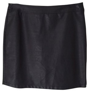 Soilitaire by Ravo Khosla Mini Skirt Black