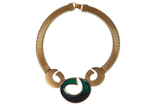 Other Mexican-Inspired Enamel Bib Necklace