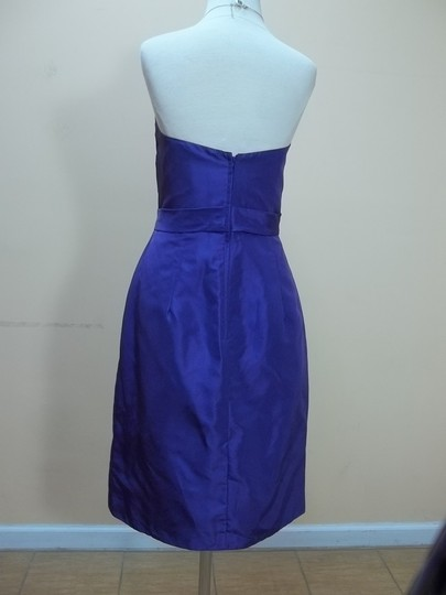 Alfred Angelo Mulberry Taffeta 7207 Formal Bridesmaid/Mob Dress Size 12 (L)