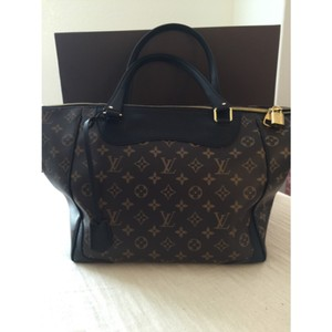 Louis Vuitton Tote in Monogram and Noir