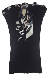 bebe Tube Scarf Dress Top black