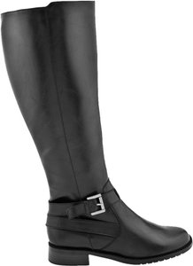 Aerosoles Faux Leather Black Boots