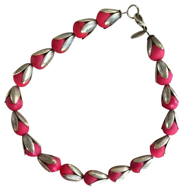 Item - Red and Gold Stunning Anthropologie Necklace