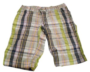 Mossimo Supply Co. Madras Plaid Preppyt Preppy Shorts Multi