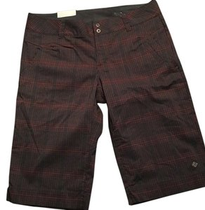 Columbia Bermuda Shorts Grey and red