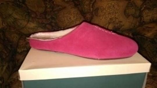 Coldwater Creek Dark Pink Mules