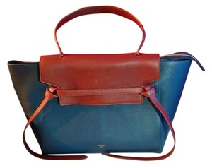 Céline Tote in Navy and Brown