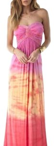 Pink multi Maxi Dress by Sky