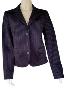 Kenneth Cole Pinstripe Black Blazer