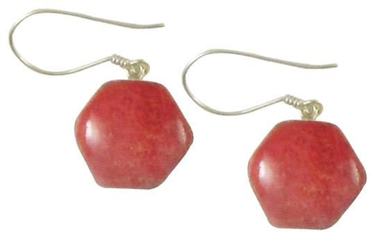Preload https://item3.tradesy.com/images/island-silversmith-island-silversmith-hexagon-shaped-coral-925-sterling-silver-earrings-0601b-free-shipping-1418537-0-1.jpg?width=440&height=440