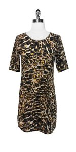 PJK Patterson J. Kincaid short dress Animal Print Metallic Polyester Leather on Tradesy