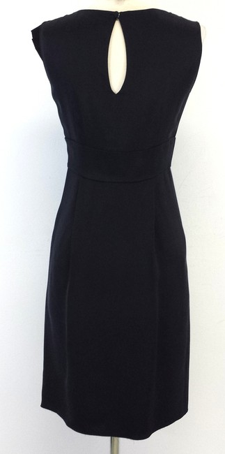 Prada short dress Black Silk Sleeveless Pleated on Tradesy