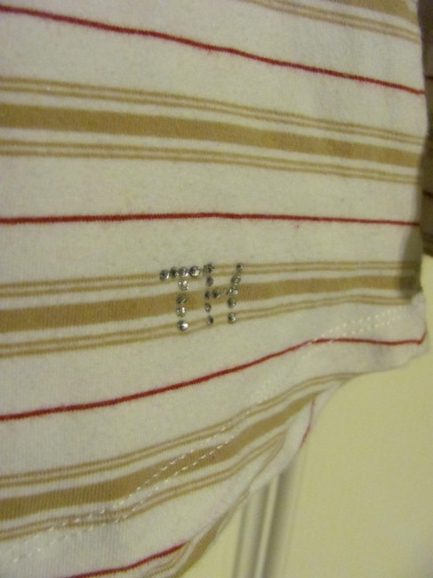 Tommy Hilfiger T Shirt White/tan/red