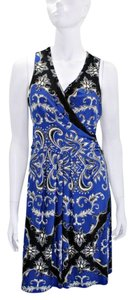 Donna Morgan Sleeveless Print Dress