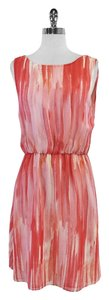 Alice + Olivia short dress Pink Sorbet Silk Sleeveless on Tradesy