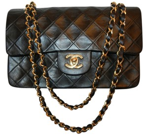 Chanel Quilted Cc Double Flap Chain Shoulder Bag