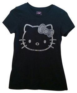 Old Navy Hello Kitty Hello Kitty Shirt Casual Shirt Short Sleeve Shirt T Shirt black