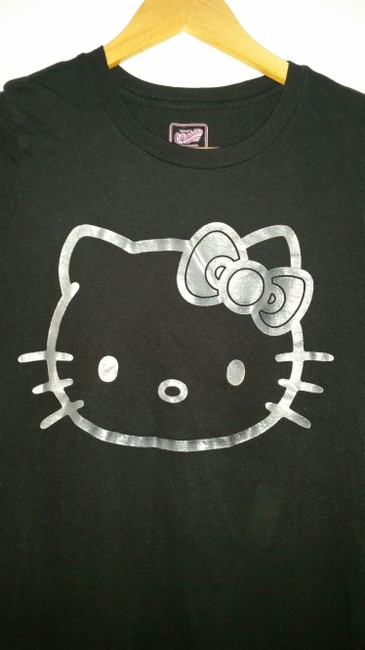 Old Navy Hello Kitty T-shirt Hello Kitty Casual Sleeve T Shirt black