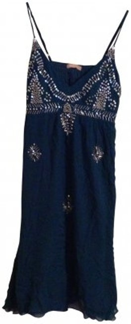 Preload https://img-static.tradesy.com/item/141917/forever-21-teal-with-silver-beading-above-knee-night-out-dress-size-8-m-0-0-650-650.jpg