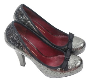 Marc Jacobs Gunmental Heels Silver / Gunmetal Pumps