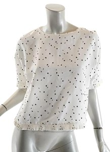 Marni Top Ivory & Black