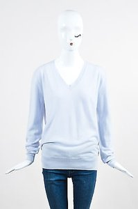 The Row Light Cashmere Sabry V Neck Ls Sweater