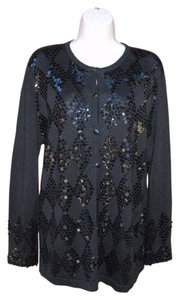 Vintage Regency Evening Sequin Diamond Cardigan