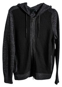 Vince Wool/linen Zip Hoodie Mens Sweater