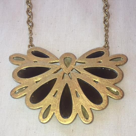 Gold Costume Necklace