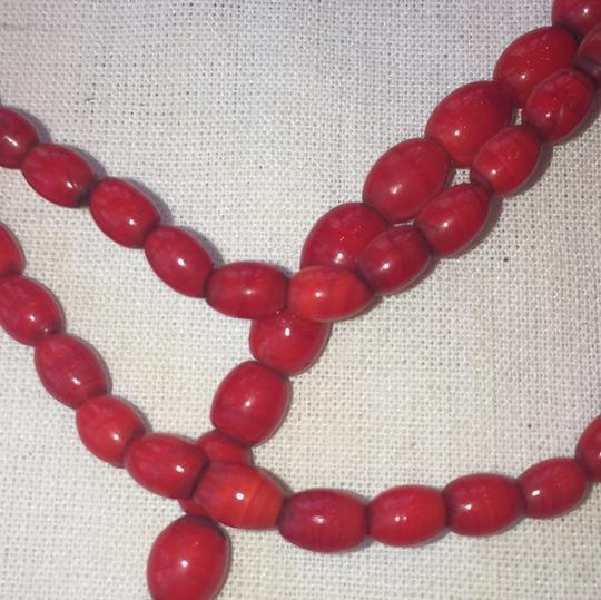Red African PrayerNecklace