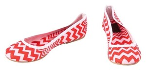 Missoni Chevron Pink Red Red/Pink Flats