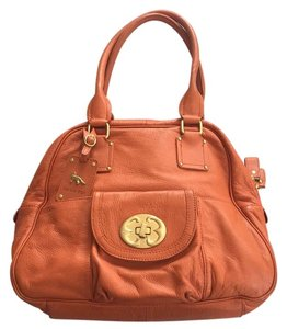 Emma Fox Satchel in Burnt Orange