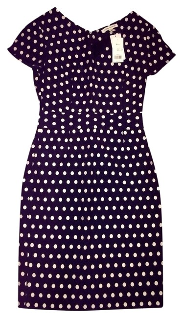 Banana Republic Shealth Polka Dot Dress