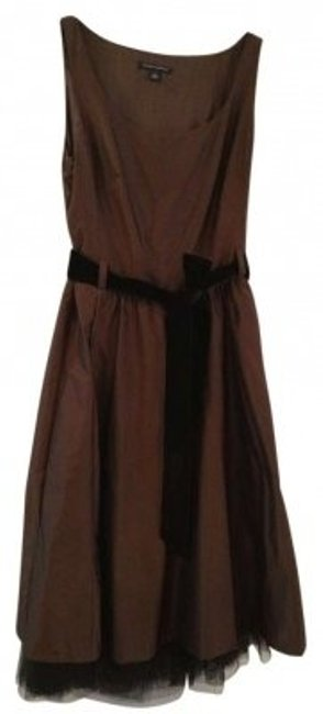 Preload https://item3.tradesy.com/images/banana-republic-brown-with-detachable-slip-sash-and-pockets-knee-length-cocktail-dress-size-8-m-141952-0-0.jpg?width=400&height=650