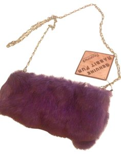 Bearpaw Purple Clutch Genuine Cross Body Bag