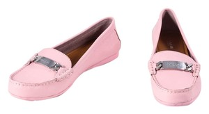 Coach Olive Pink Leather Loafers * Pink Flats