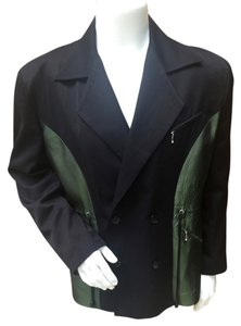 John Richmond Mens Jacket Coat green and black Blazer
