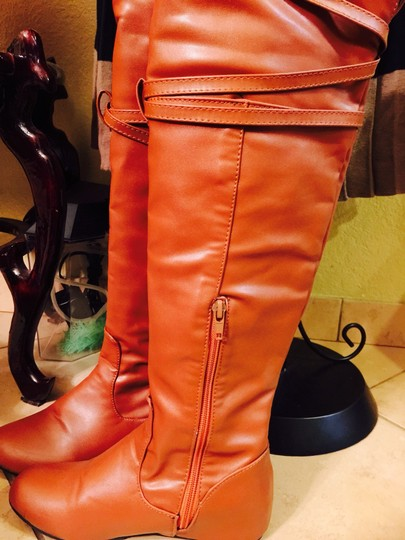 MLE Light Brown Boots