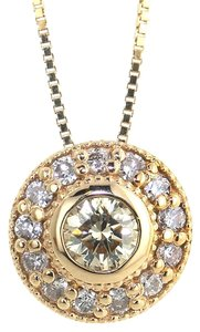 ABC Jewelry Accented Round Pendant