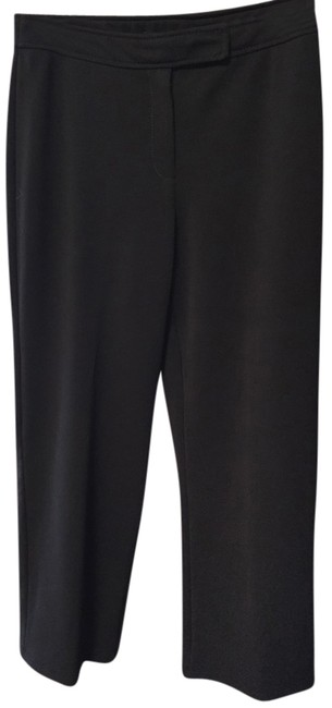 New York & Company Polyester Spandex Straight Pants Back