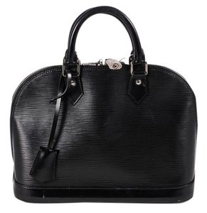 Louis Vuitton Patent Leather Alma Pm Shoulder Bag