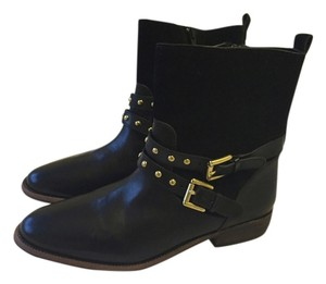 Coach Leather Suede black Boots