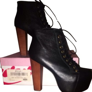 f3ad6b35de1 Black Jeffrey Campbell Platforms - Up to 90% off at Tradesy