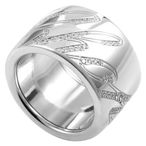 Chopard Chopard Chopardissimo Signature 18K White Gold Ring 826582 US 6.5