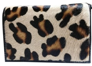 Alberta Di Canio Black patent leather and leopard print on calf hair