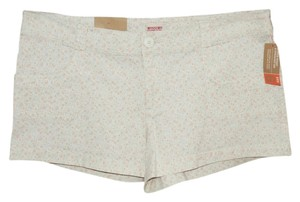 Mossimo Supply Co. Mini/Short Shorts Pastel Floral