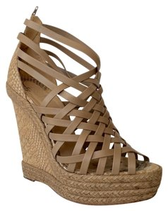 Christian Louboutin Beige Wedges