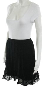 Elie Tahari New With Tags Mini Skirt Black