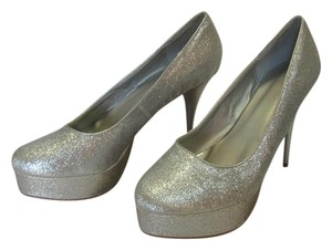 Other Size 9-10 M Very Good Condition Silver, Platforms