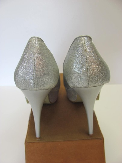 Other Size 9-10 M Very Good Condition Silver, Platforms Image 2
